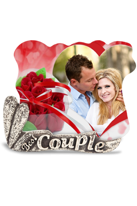 Couple Alluring Photo Frame