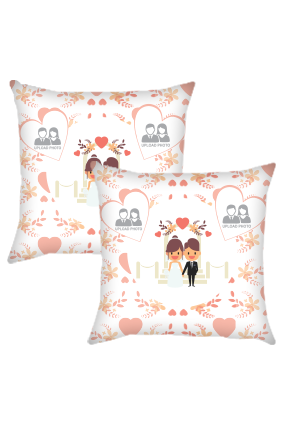 Couple Cushion Cover