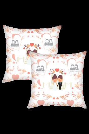 Couple Cushion Cover