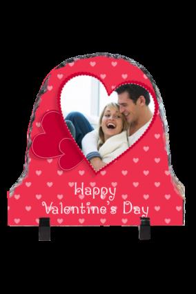 Personalised Elegance Valentine Day Photo Rock