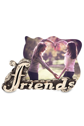 Picture This Friends Photo Frame