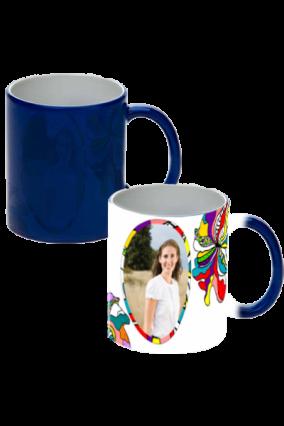 Creative Blue Magic Mug