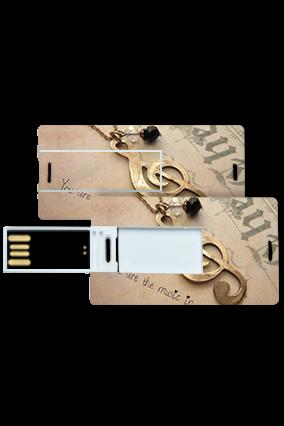 Melodious Theme Mini Card Pen Drive