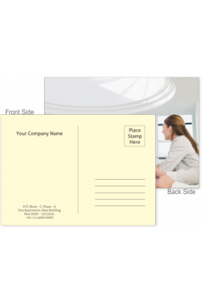 business postcards buy corporate postcard with company logo name