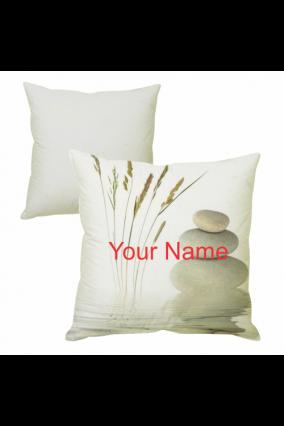 Elegant White Cushion Cover
