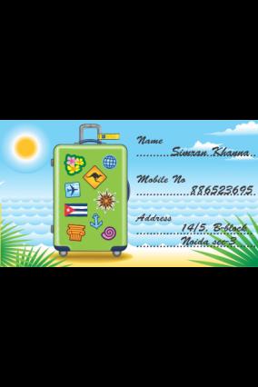 Set of 25 Pcs Customized Exotic Holiday Sticker