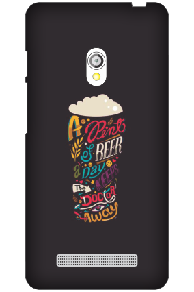 Asus Zenfone 5 Bottoms Up Black Mobile Cover