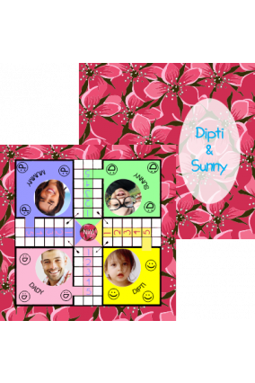 Personalised Family Love Ludo