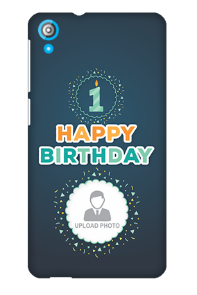 HTC Desire 820 Birthday Greetings Mobile Cover