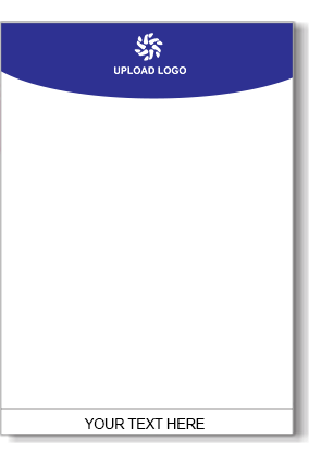 Dark Blue Color Letterhead