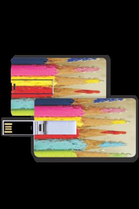 Rainbow Pencils Card Pen drive