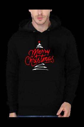 Merry Christmas Black Hoodie