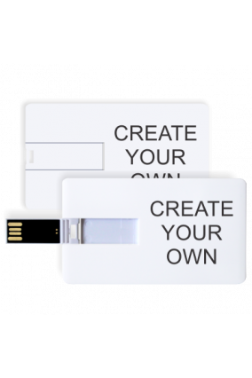 Create Your Own Credit Card Pen Drive( 4, 8, 16, 32, 64 GB)