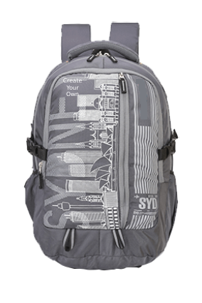 Sydney 35 Ltr (Grey) Backback Bag