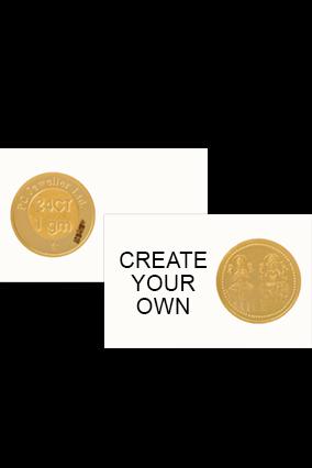 Create Your Own Laxmi Gold Coin