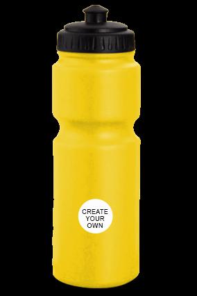 Grippy Water Bottle H65 Yellow