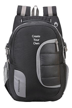 Jersey 45 Ltr (Black) Backback Bag