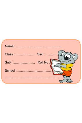 Set of 25 Pcs Instructing Teddy Paper
