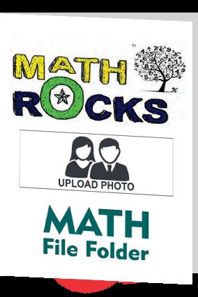 Math Rocks Folder