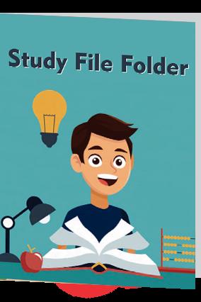 Study Time Folder