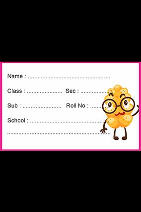 Set of 25 Pcs Premium Funny Specs Kids Sticker