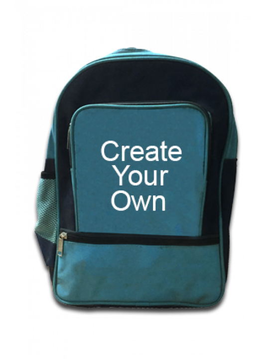 School Bags (Grey and Blue) - Business
