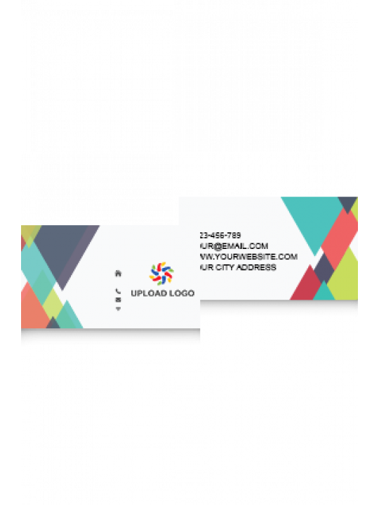 Mixed Colors Business Card