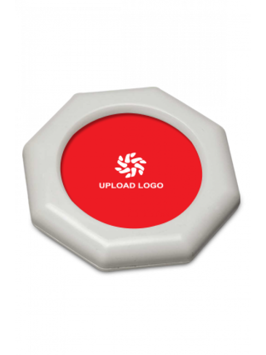 Promotional Red Colored Paperweight - 116