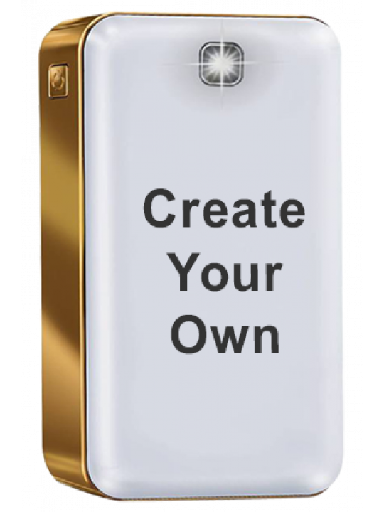 iBall Power Bank 12000 mAh PLM12100 - Polymer Battery (White+Gold)