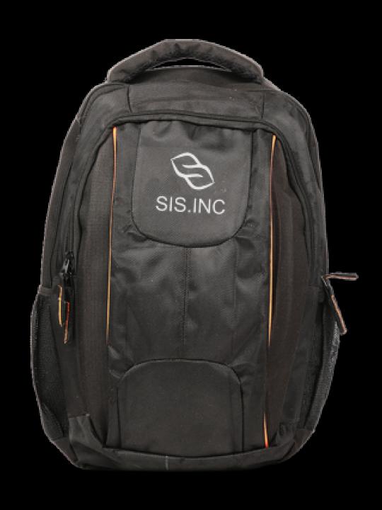 Regular White Logo Laptop Bag