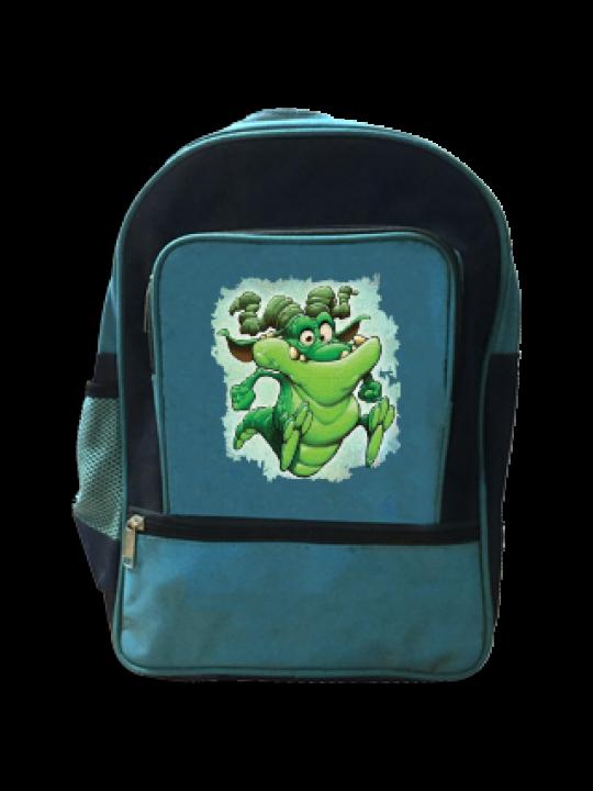 Funny Crocodile School Bag