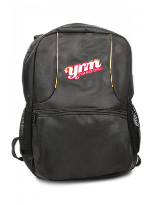 Dazzling Red Logo Laptop Bag