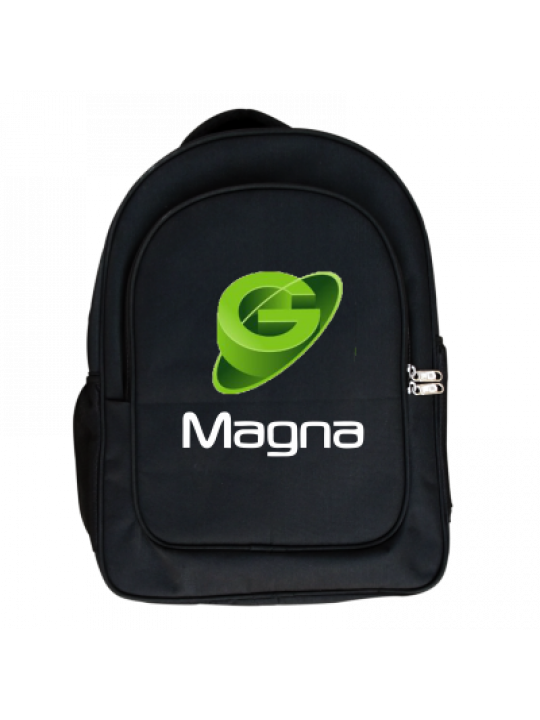 Green Logo Laptop Bag