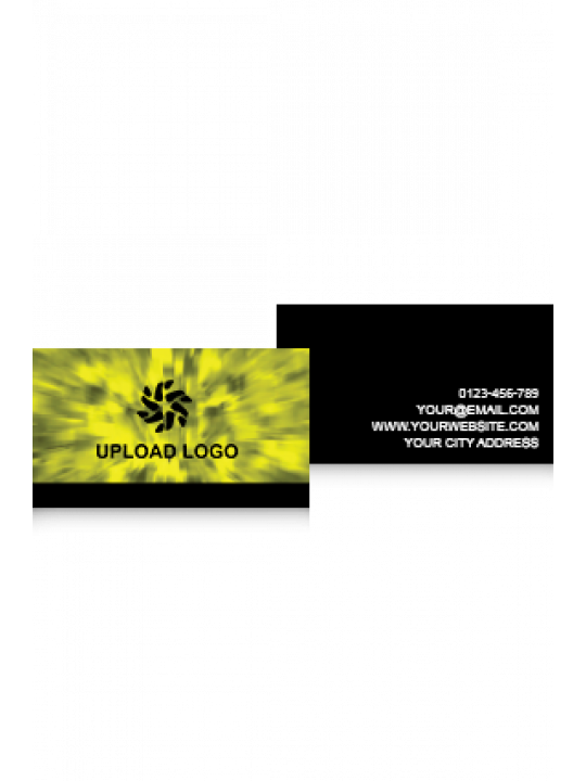 Business Card | Yellow Effect Card