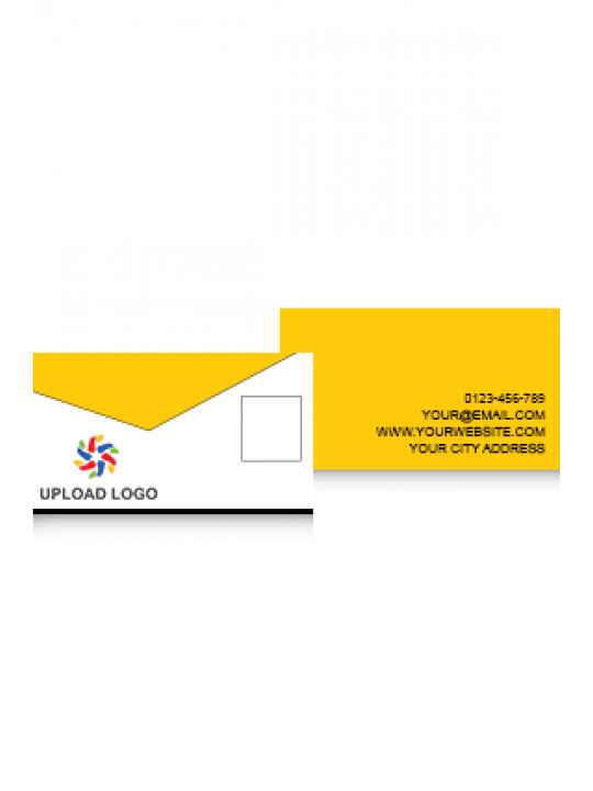 Business Card | Yellow Card