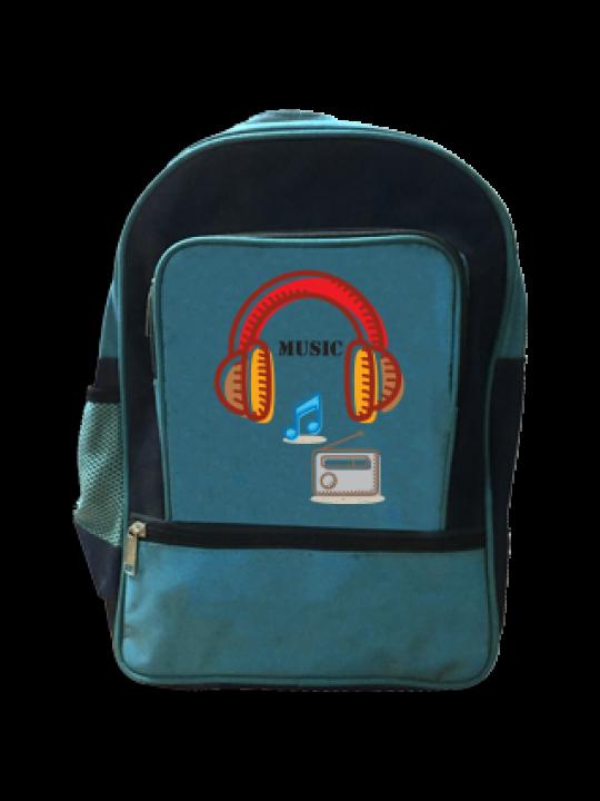 Music and Lyrics School Bag