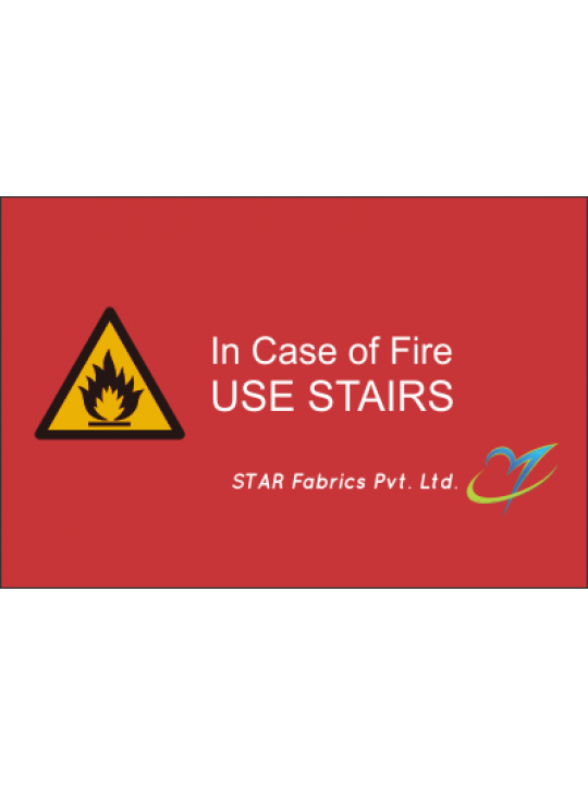Customised Fire Fighting Sticker