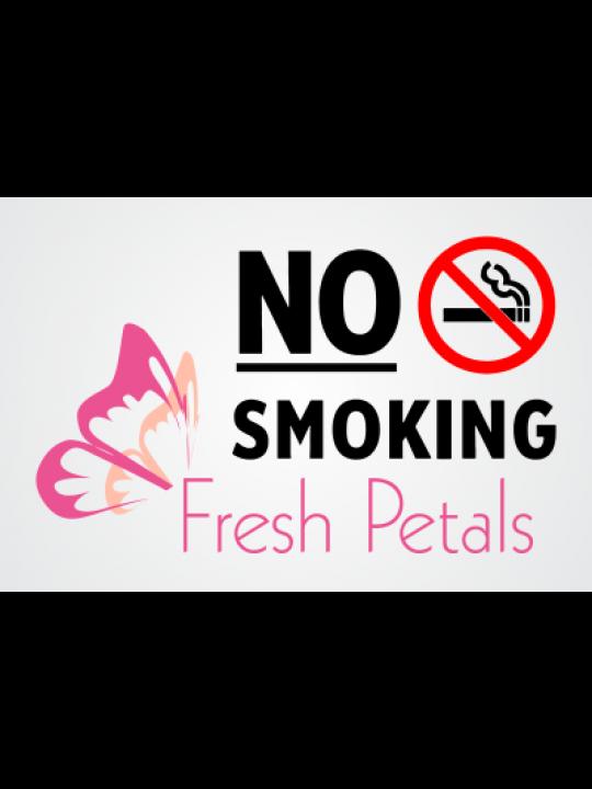 Business No Smoking Sticker