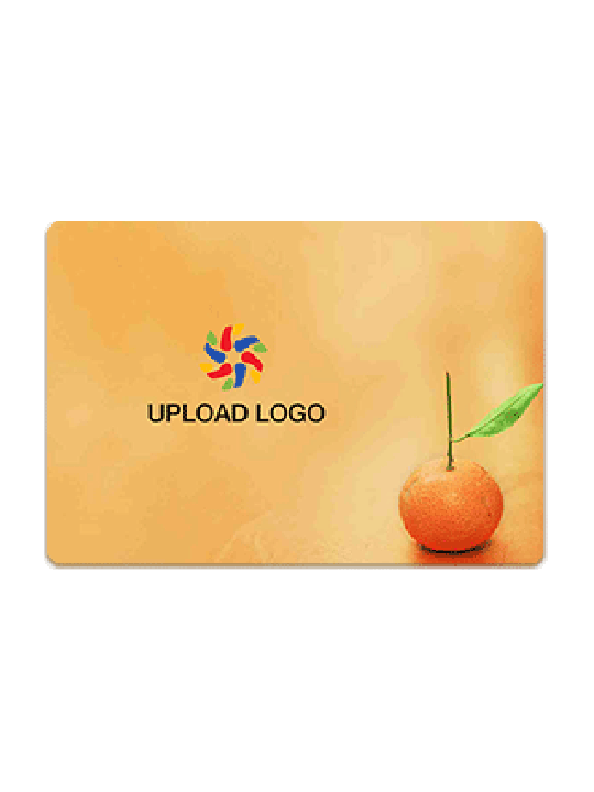 Customize Juicy Orange Table Mat
