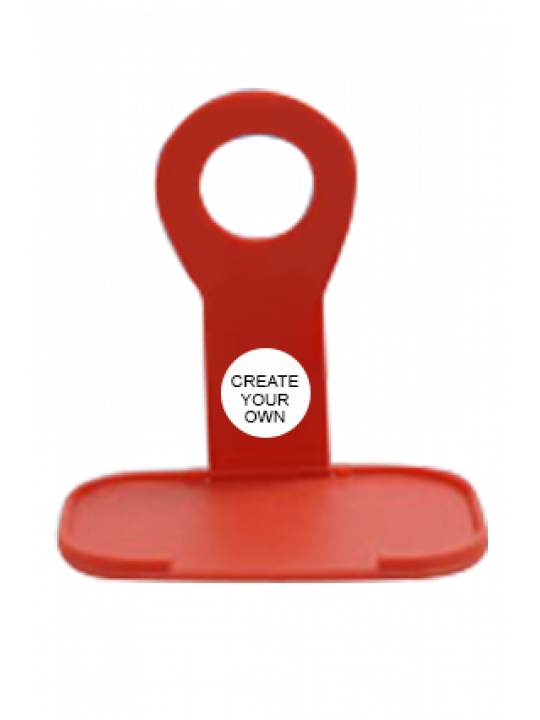 Mobile Phone Charging Stand E-56 - Red