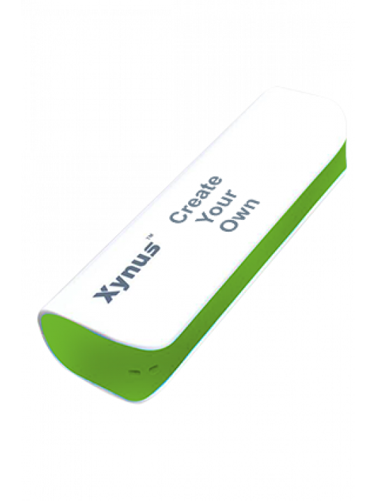 Create Your Own 2000mAh Xynus Power Bank Green