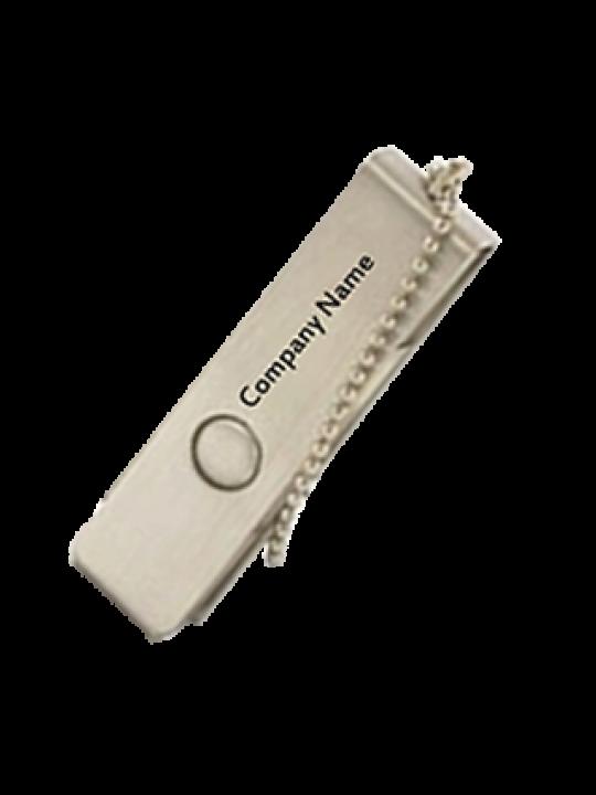Customised Swivel Metal Pen Drive