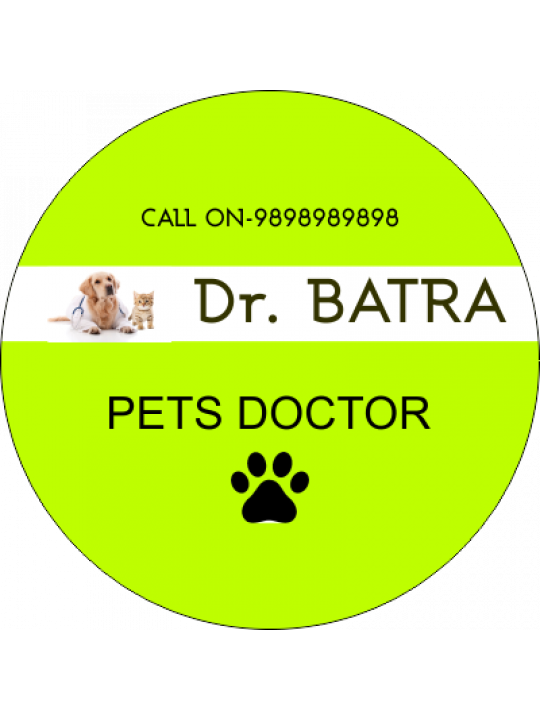 Customised The Pets' Doctor Sticker