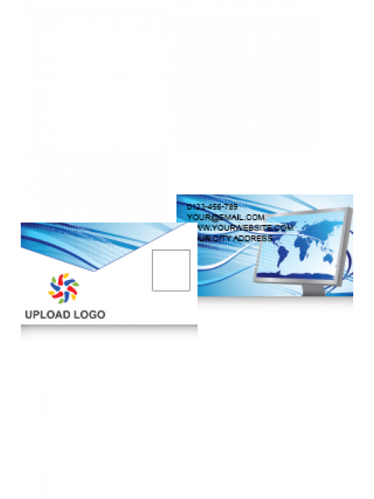 Business Card | Blue Card