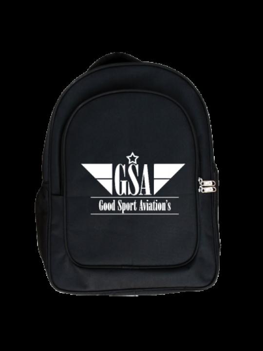 Winged Logo Laptop Bag