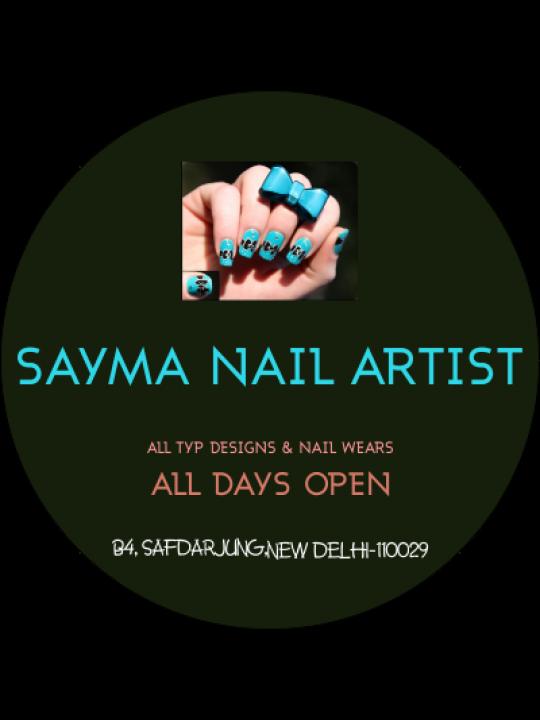 Business Nail Art Sticker