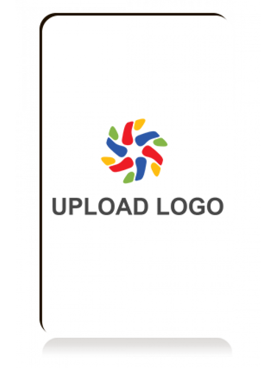 Upload Logo Portrait MDF Magnet