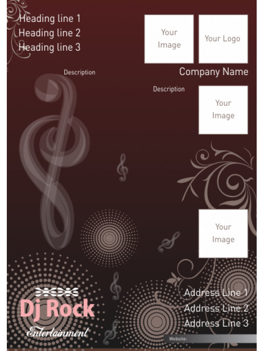 Harmony Music Industry Poster