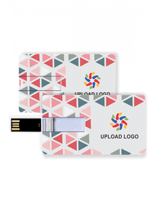 Promotional Soothing Credit Card Pen Drive (8, 16, 32 GB)