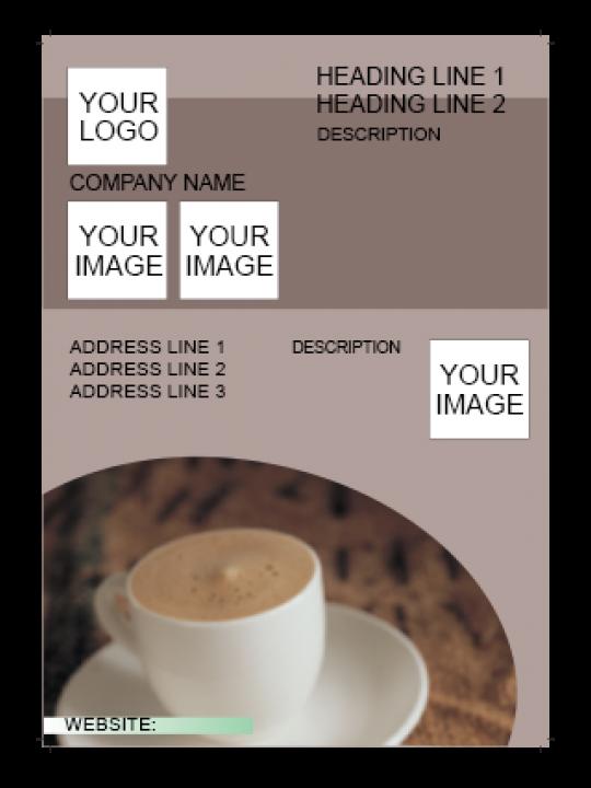 Brown Color Flyer